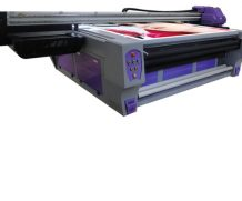 High Speed A2 Two Head Plastic UV Flatbed Printer in Tunisia
