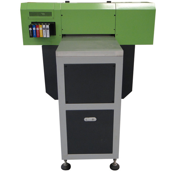 Best quality A3 WER E2000UV 8 print color a3 uv led flatbed printer price