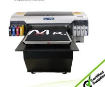 Best A3+ Size 6 Colors Digital Flatbed T-Shirt Printer Price