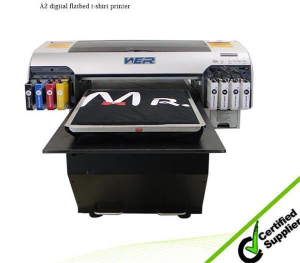 Best selling A2 420*900mm WER-D4880T dtg printer,fabric printer machine in Vietnam