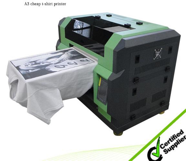 Cheap A2 size WER-D4880T direct to garment t-shirt printer DTG in Bangkok