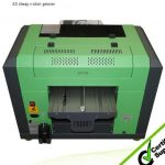 Best cheap A1 WER EP7880T digital printer for t-shirt printing machine,dtg printing in Cameroon
