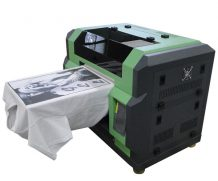Best Rocih head A3 Textile Digital T-Shirt Printer for all color t-shirt printing in Bangkok