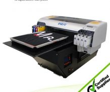 Best Hot selling DTG a3 329*600mm WER-E2000T with CE certification,garment printing machine in Sweden