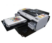 Best New Fashion design A2 size with DX5 printhead WER-D4880T Digital flatbed T Shirt Printer in Costa Rica