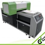 Best High quality dx5 print head with high adhesive A2 textile WER-D4880T printing machine in Lithuania