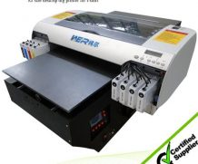 Best New fashion design A2 size with high resolution and strong adhesive WER-D4880T dtg printer in Durban