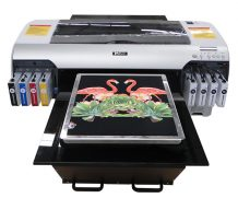 Best Flatbed Digital Cotton T Shirt Printer with A3 Size
