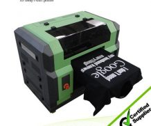 Best easily operated digital A2 DTG t shirt printer polo t shirt printing in El Salvador