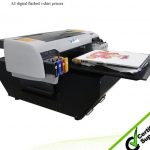 Best 2016 top selling printer A2 WER-D4880T direct toblack color T-shirt printer in Turkey