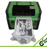 Best New fashion design with desktop print head, a2 size WER-D4880T digital t shirt printer in Kazakhstan