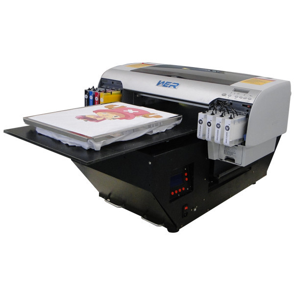 Reasonable price desktop A2 size WER-D4880T digital t shirt printer in Egypt
