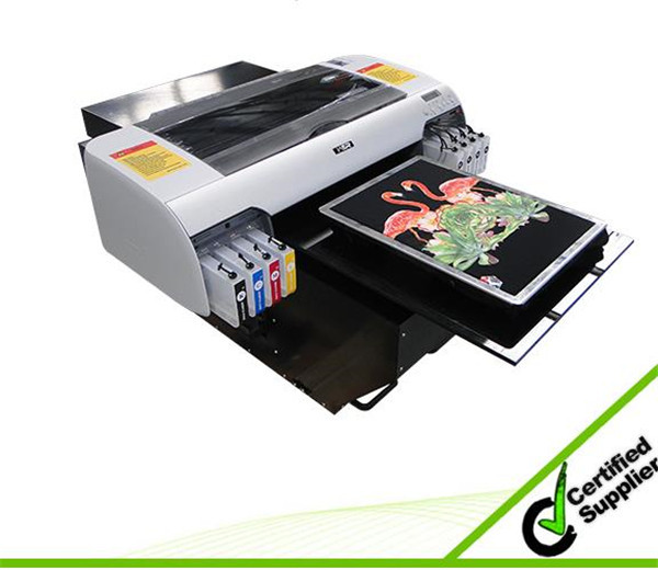 Best design A2 size WER-D4880T with high resolution digital flatbed dtg t-shirt printer in Tennessee