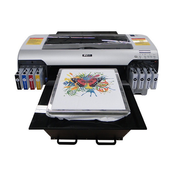 Hot selling A2 size with two dx5 printheads t shirt digital printing machine in Israel