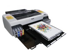 Best Top selling 8 colors cmyk+wwww A3 size WER-E2000T DTG printer for t shirt in Honduras