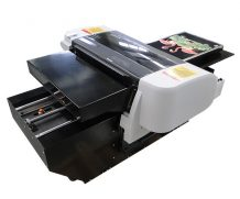 Best digital t-shirt printer on desk, a3 flatbed t-shirt printer in Chicago