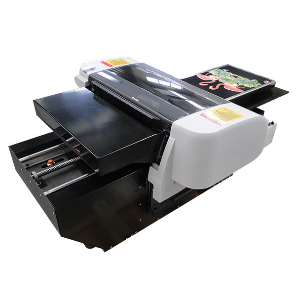 2016 top selling printer A2 WER-D4880T direct toblack color T-shirt printer in Honduras
