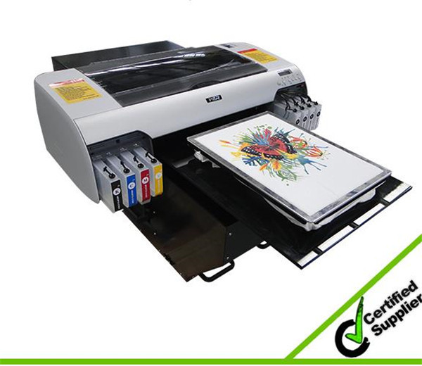 Good performance desktop A2 size WER-D4880T digital t shirt printing machine for sale in Cameroon