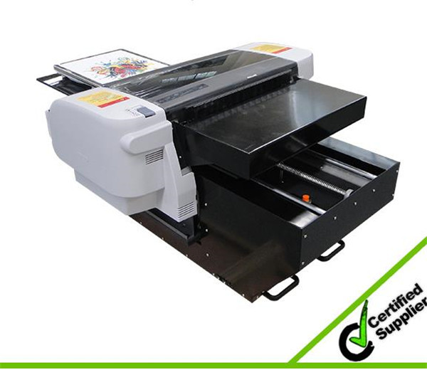 New fast printing speed with two dx5 A2 size t shirt printer digital in Argentina