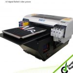 Best 2016 Hot selling WER-D4880T A2 digital flatbed t-shirt printer in Jamaica