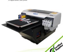 Best Ricoh heads dark and light color DTG T-shirt printer with white ink in Portugal