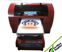 Best Hot selling A2 size with two dx5 printheads t shirt digital printing machine in Venezuela