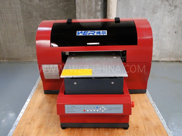 Popular A3 t shirt textile printer WER E2000T printing machine, A3 tshirt printing machine in Johannesburg