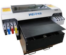 Best High resolution and strong adhesive A2 size WER-D4880T digital dtg t-shirt printer in Saudi Arabia