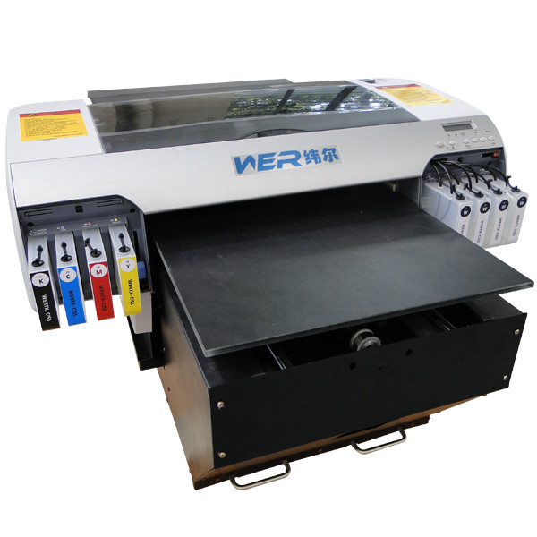 2016 new design Hot Selling A2 size WER-D4880T digital printing machine for tshirts in Belgium