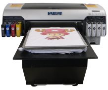 Best Cheap A3 size WER EP2000T digital printers for t-shirts in Ottawa