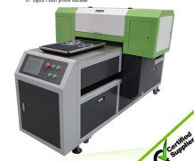 Best Byc Flatbed Printer for T-Shirts Printing