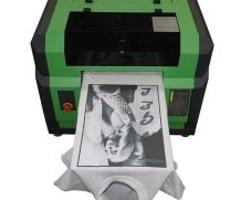 Best Digital A3 T Shirt Flatbed Printer with R1390 Printhead