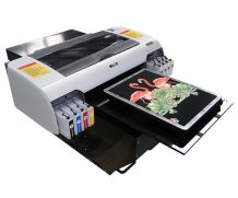 Best cheap A3 WER E2000T direct to garment printer with dx5 head, t shirt printer machine in Jeddah