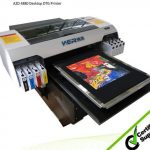 Best Cheap DTG a3 329*600mm WER-E2000T with CE certification,dress printer in Australia
