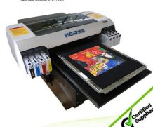 Best A2 size t-shirt garment digital printer Two heads DTG printer in Botswana