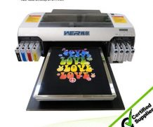 Best Stable performance A2 size WER-D4880T t shirt printing machine for all kinds of garments in Austria