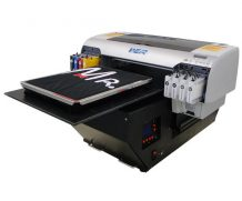 Best High quality professional small digital flatbed t-shirt printer in Italy