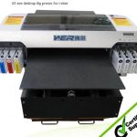 Best High Quality t printer machine WER-ED1310T for A0 Seriest DTG t-shirt Printer in Ghana