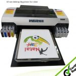 Best Popular A2 420*900mm WER-D4880T dtg printer,digital flatbed printer in Costa Rica