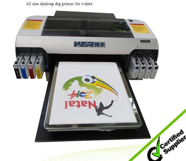Most reliable A2 size WER-D4880T digital t-shirt printing impresora textil fabricanteg in Italy