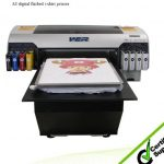 Best Popular a3 329*600mm WER-E2000T, cheap t-shirt printer with 1 DX5 printhead, A3 DTG printer in Saudi Arabia