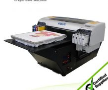 Best Hot selling A3 size CISS system WER-E2000T direct t-shirt garments printer in Singapore