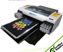 Best 2016 Direct to Garment Flatbed Printer T-Shirt Printing Machine