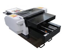 Best New hot selling A2 size WER-D4880T digital t-shirt flatbed printer in Lithuania
