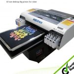 Best Popular A2 420*900mm WER-D4880T dtg printer,digital flatbed printer in Johor