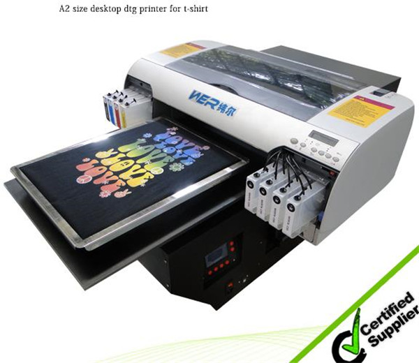New design A3 size WER-E2000T strong adhesive high quality a3 DTG printer in Lithuania