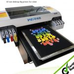 Best DTG A3 500mm *380mm WER-R3DT with CE certification, fast speed T-shirts printer in Oklahoma
