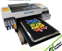 Best Popular A1size WER-EP7880T digital printer textile printing machine in Durban