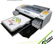 Best 2016 New model Digital Direct To Garment T-shirt printer, A3 size DTG Printer in Czech