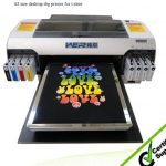 Best High quality dx5 print head with high adhesive A2 textile WER-D4880T printing machine in Czech